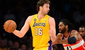 The Lakers had bad losses against the Suns at home and against the Wizards even though the last loss occurred with a full roster as Kobe Bryant returned from a sprained ankle and Pau Gasol six weeks after a foot injury. (Photo credit FREDERIC J. BROWN/AFP/Getty Images)