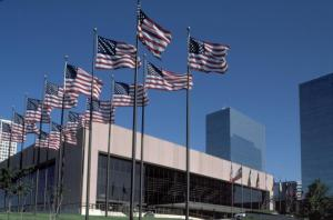 Summit Arena with 25 flagpoles use for home page_full